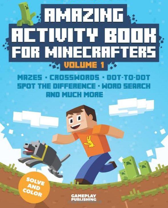 minecraft activities book